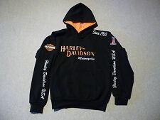 "Harley-Davidson Sweatjacke mit Kapuze Gr.XL"""