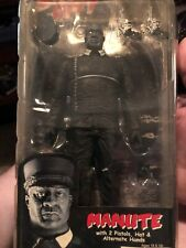 Neca Sin City Manute with 2 Pistols, Hat Alternate Hands Figure Is Mint Pac Not