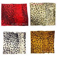 BNWT Leopard Moc Vintage Celebrity Soft Animal Print Lady Scarf Shawl Wrap Gift
