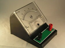 Bench Microammeter DC Range 0-200uA 4mm terminals MBH004a