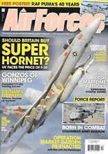 Air Forces Monthly Dec.2011 RAF Puma F-35 Super Hornet Canadian CT-142 IIreland