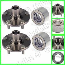 FOR 1996-2000 TOYOTA RAV4-FRONT WHEEL HUB & BEARING PAIR NEW FAST  SHIPPING