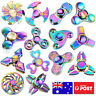 Gyro Finger Spinner Fidget Toys Alloy Fidget Hand Spinners For Kids Autism Gifts