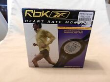 Reebok Precision Trainer XT  Heart Rate Monitor, BNOS sealed package
