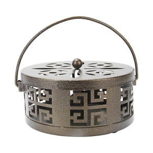 Oriental Metal Incense Holder   M&W