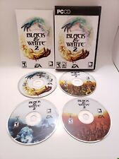 Black & White 2 (PC, Classic Strategy Game, 4 Discs & Book, EA, 2005) - Complete