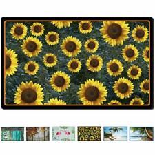 Decorative Indoor Outdoor Doormat Non Slip Front Door Mat  (Sunflower Field)