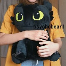 """How To Train Your Dragon 3 Toothless Plush Rag Doll with Tag 17"""" 45cm Big"""