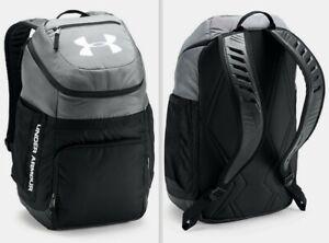 Under Armour UA Team Undeniable Backpack Sport Gym School Travel Bag Graphite/Bk