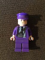 LEGO HARRY POTTER PURPLE BUS DRIVER MINIFIGURE. Retired