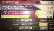 Adobe Books Bundle: Flash, After Effects, inDesign, Dreamweaver CS3