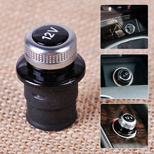 12V Cigarette Dummy Cover Lighter Socket Plug Fits For Audi A4 A6 RS7 2014-2016