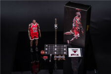 NBA Michael Jordan Action Figure 23 Red Jersey 1/9 Fans Kids Xmas Toy NEW In Box