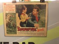 SNOWFIRE-TITLE LOBBY CARD-11 X14-DON & MEG McGOWAN,CLAIRE KELLY-1958