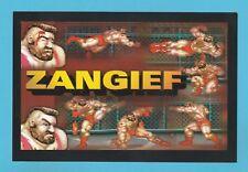 ADVERTISING  -  GAMESMASTER MAGAZINE POSTCARD - STREETFIGHTER  2  -  ZANGIEF