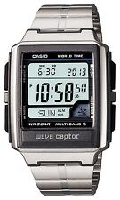 New!! CASIO WAVE CEPTOR MULTIBAND 5 WV-59DJ-1AJF Men's Watch Silver Japan Import