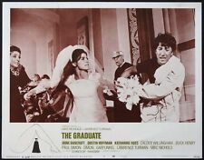 The Graduate Dustin Hoffman Katharine Ross Bancroft 1968 Lobby Card #5