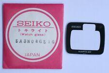 Seiko SA3N03GS 10 Vetro Crystal Glass Uhrenglas Verre 0124-0010 0124-0019 NOS