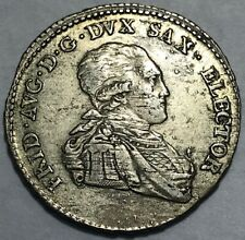 German States - SAXONY - Friedrich August III - 1/6 Thaler 1804 SGH - Km-1045
