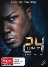 24 Legacy Season 1 (DVD, 2017, 3-Disc Set). NEW SEALED REGION 4
