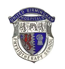 More details for united birmingham hospitals physiotherapy school enamel badge