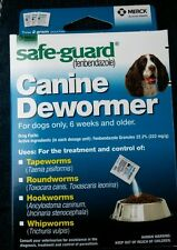Safe-Guard Canine Dewormer for Medium Dogs