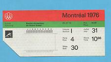 Orig.Ticket   Olympische Spiele MONTREAL 1976 // KANU - 31.07.(5 Final`s) !! TOP