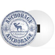 Cool Anchorage Alaska Fridge Magnet - Moose USA Fun Travel Souvenir Gift #4544