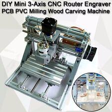 Mini 3 axe CNC routeur graveur PCB Pvc Fraise Wood Carving Machine à graver