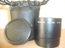 OLYMPUS IS/L C-180 1.7X 52MM H.Q CONVERTER LENS WITH BAG AND FRONT CAP 16AG17