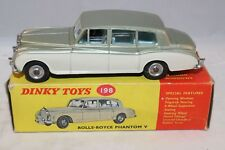 Dinky Toys 198 Rolls Royce Phantom very very mint in box all original