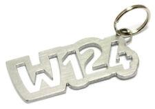 Benz W124 Schlüsselanhänger Edelstahl E-Klasse S C A V VF 124 DUB