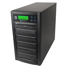 NEW 1-5 Multi DVD CD Discs Copier Duplicator & 500GB Built-In Hard Drive Storage