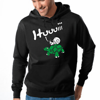 Huuuiii Hui Schildkröte Schnecke Fun Comedy Spaß Kapuzenpullover Hoodie Sweater
