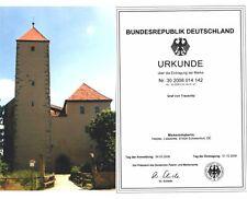 Mitbesitzer an einem ECHTEN Schloss & GRAF von TRAUSNITZ = Adelstitel