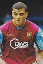 Football Photo>WILFRED BOUMA Aston Villa 2005-06
