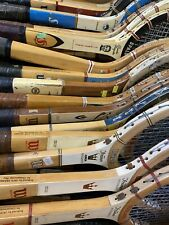 New listing Lot of 44 Vintage Wooden Tennis Racquets Wilson, Bancroft Collector's Lot LOOK