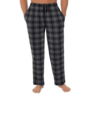 Fruit of the Loom Mens Beyond Soft Stretch Printed Sleep Lounge Pants Large NEW