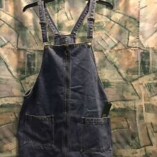Plus size clothing Overall jean dress Has Pockets Size XXL