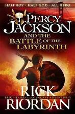 Percy Jackson And The Battle Of The Labyrinth by Rick Riordan (Paperback, 2013)