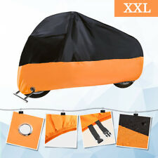 XXL Motorcycle Cover Waterproof Outdoor Bike Rain Dust UV Protector Extra Large