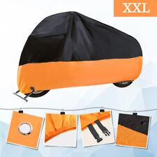 XXL Motorcycle Cover Waterproof Outdoor Bike Rain Dust UV Protector Extra Large