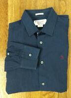 ORIGINAL PENGUIN CLASSIC FIT Long Sleeve shirt Red/White/Blue Striped S Men EUC