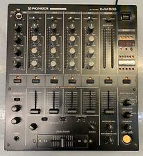 PIONEER DJM500 DJM 500 DJM-500 4 Channel Professional DJ Mixer Mixing Deck