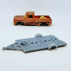 1 Transport Trailer 1:64 scale 3D printed resin for Hot Wheels/Matchbox