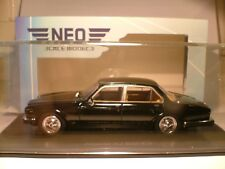 WOW EXTREMELY RARE NEO 1/43 1986 JAGUAR XJ SIII 4.2 RHD OUTSTANDING DETAIL NLA