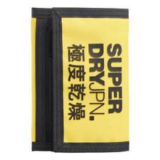 Superdry NEW Men's Tri-Fold Wallet - Nautical Yellow BNWT