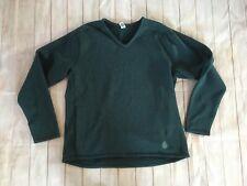 Stio Green Speckled Insulated Sweatshirt V-neck Men's Size XXL Pocket