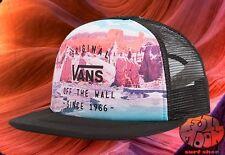 New Vans Lawn Party Digi Womens Snapback Trucker Hat Cap