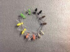 12 fly fishing foam spiders assortment # 12 hooks Flies poppers panfish bluegill